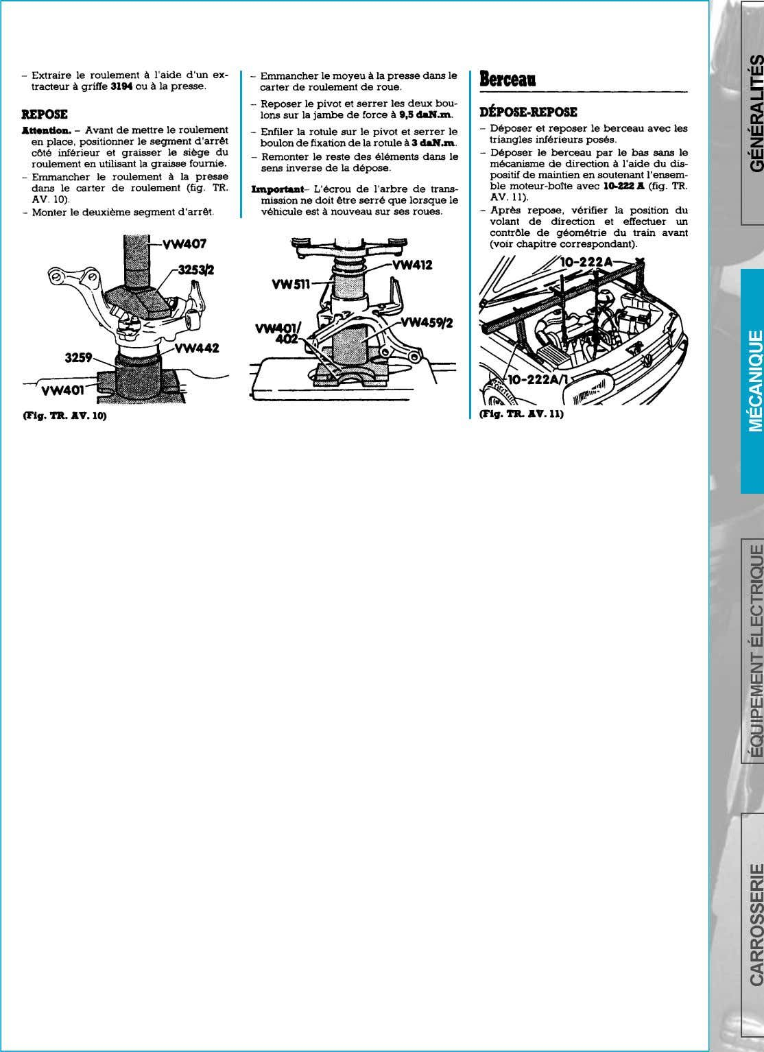 SUSPENSION-TRAIN AVANT     page 151