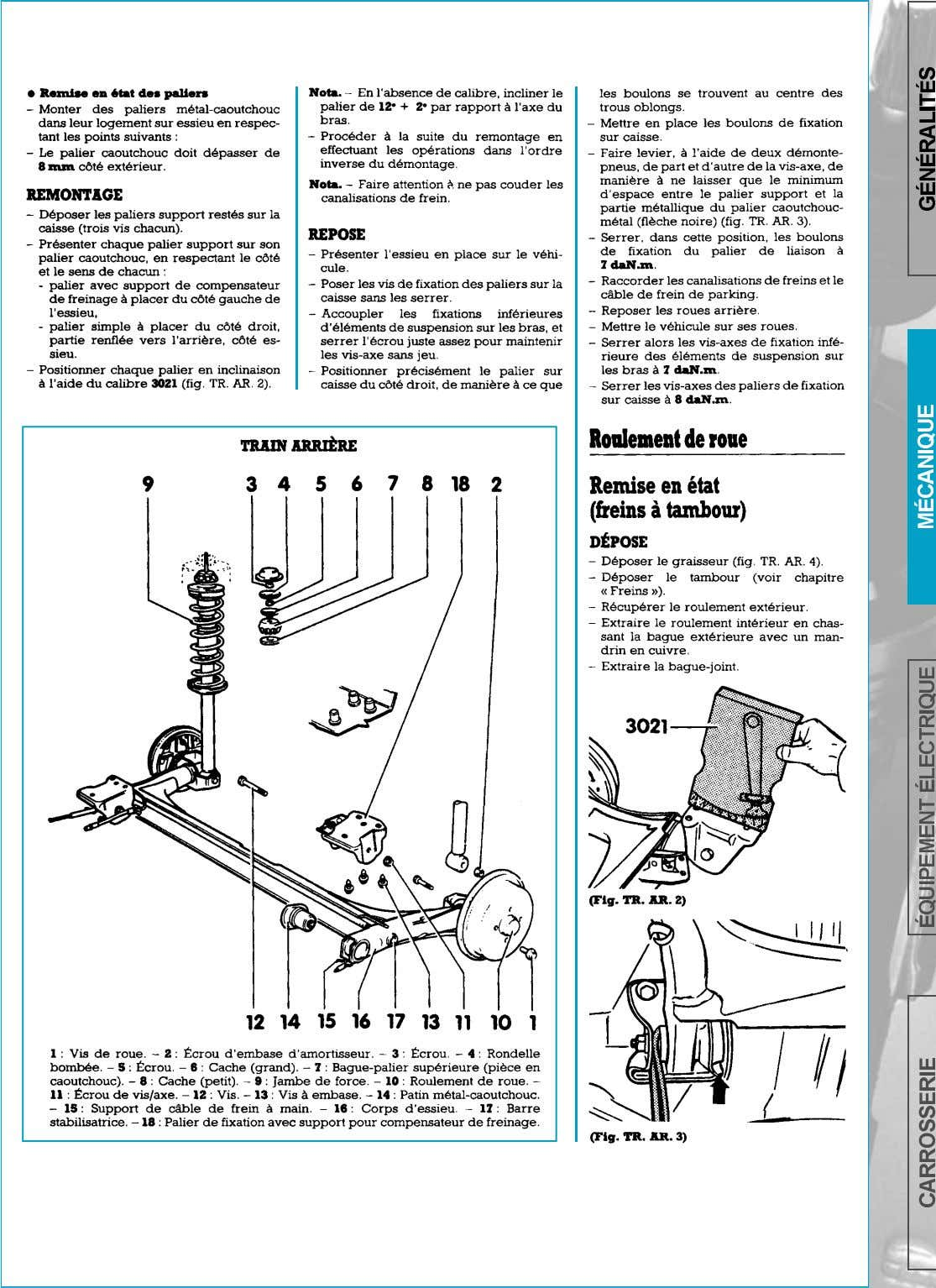 SUSPENSION-TRAIN ARRIERE   page 154