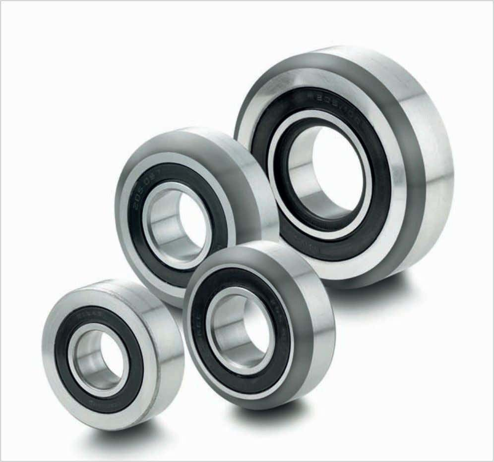 EN 31-SAE 52 100. All bearings are deliverable ex stock. Special designs of cylindrical roller bearings