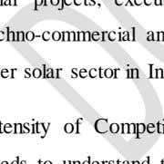 techno-commercial and environmental parameters as discussed above. So, Sun will shine brightly over solar sector in