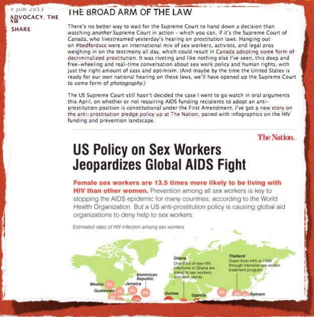 POST Share an infographic that illuminates an issue your organization cares about. source: postwhoreamerica.com