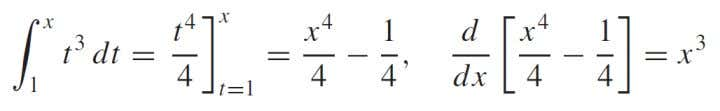 PART 2 OF THE FUNDAMENTAL THEOREM OF CALCULUS EXEMPLE Find