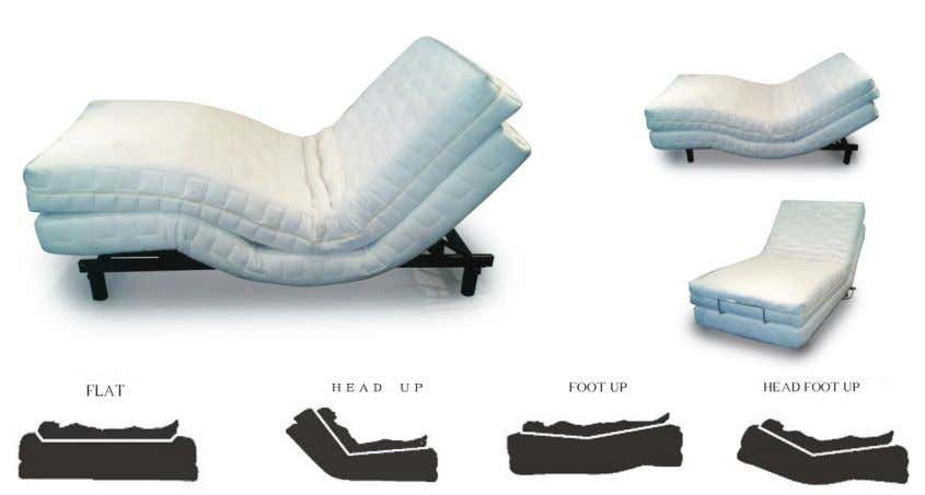 ess/Wall Hugger/Massage/ Added Sa fety Protection This unique design motio n bed features: • Tight fit