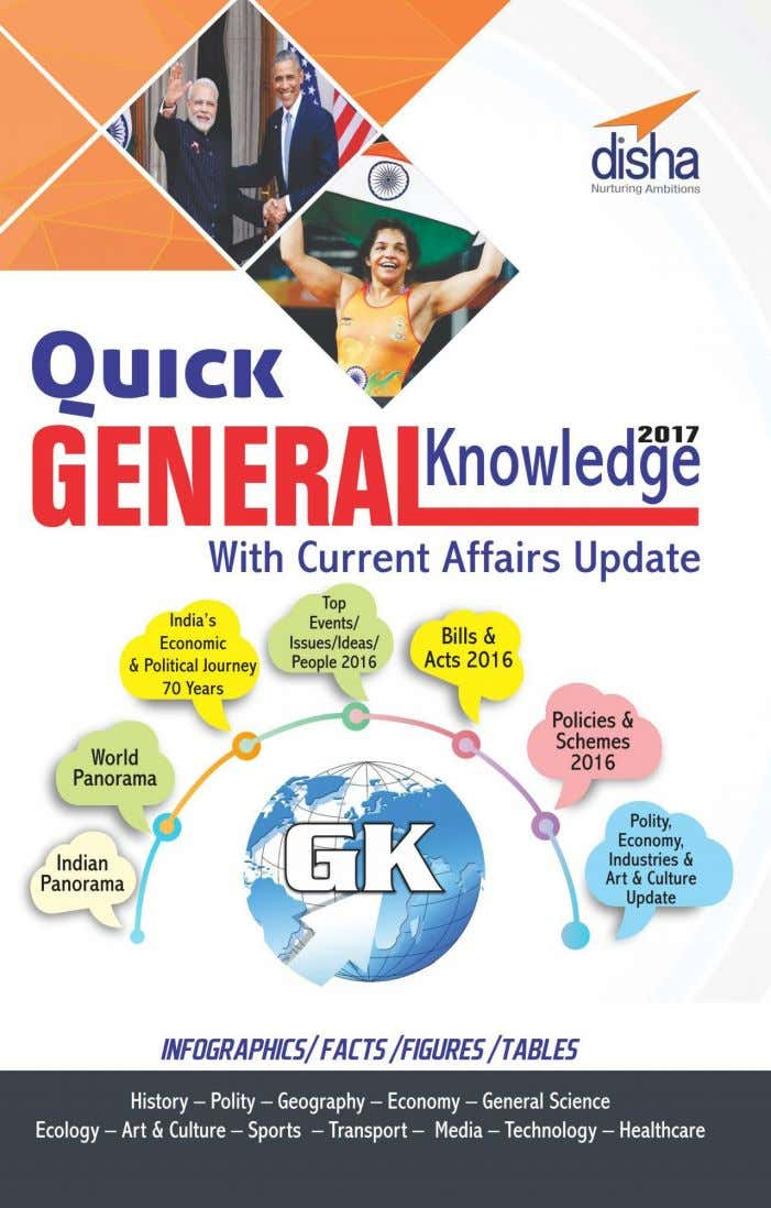 GENERAL SCIENCE This Chapter is taken from our: ISBN : 978-9386146991 For More Book Download Click
