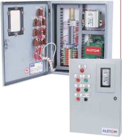 Ignitors • Gas ignitors • Dual fuel ignitors Control cabinets are available as a self contained