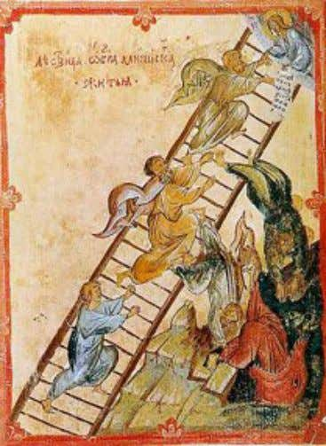 Jacob's Ladder is the description image above. Occultists and Masons use Jacob Ladder imagery. What