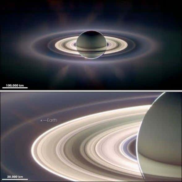 Saturn in Greco-Roman mythology was the ruler of the Universe along with his sister Ops