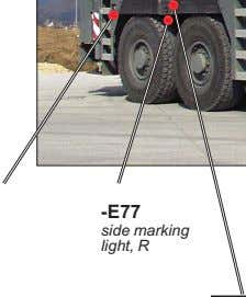 -E77 side marking light, R