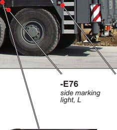 -E76 side marking light, L