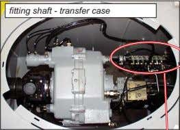 fitting shaft - transfer case