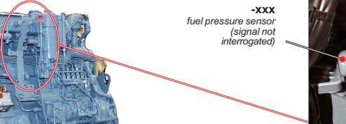 -xxx fuel pressure sensor (signal not interrogated)