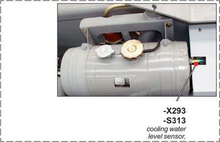 -X293 -S313 cooling water level sensor,