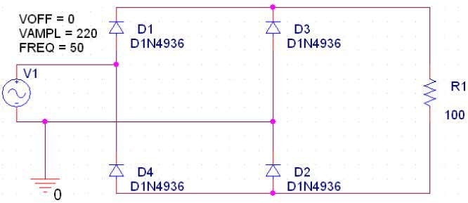 Journal on Computer Science and Engineering (IJCSE) Figure 2: Conventional single phase diode rectifier From the