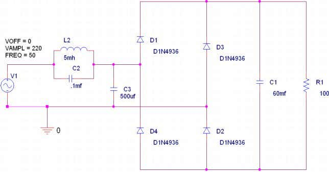 power f actor at rated output power reaches its peak value. Figure 12: Single phase diode