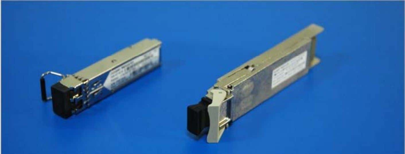 SFP/XFP Description • Optical transceivers that are installed in an IOC • Hot-insertable and hot-removable ©