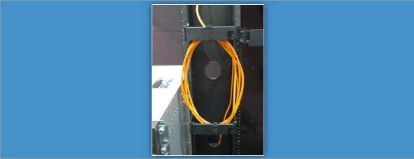 Connecting IOC Cables Do not bend fiber-optic cables beyond their minimum bend radius. Do not let