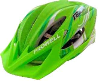 17 456977 G CAPACETE P/CICLISTA F44 CZ FOSC CAMOUF - PROWELL 456969 G/447889 M CAPACETE P/CICLISTA