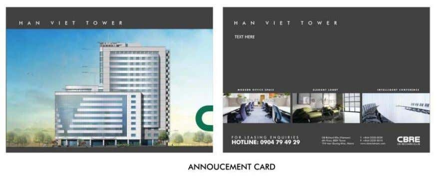Marketing Brochures & Announcement Cards CBRE | Page 30