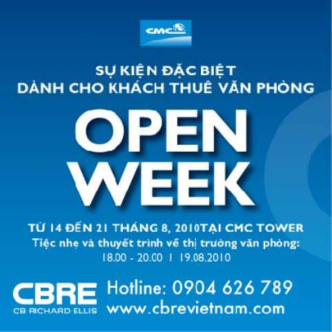 Events, Open week and talks Op en Weeks & Events CBRE | Page 34