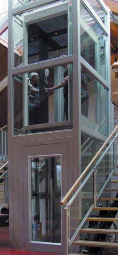 Residential platfoRm lift A complete range of hydraulic platform lifts, also with automatic operation.