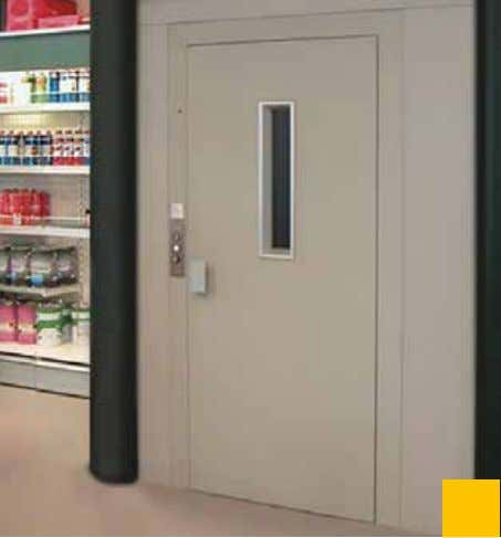 in a private house (The Netherlands), standard finishes. Installation in a supermarket (Italy), standard finishes.