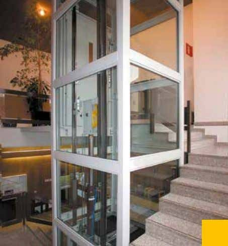 same time fully respecting all environmental considerations. Installation in a company (Italy), structure with glass