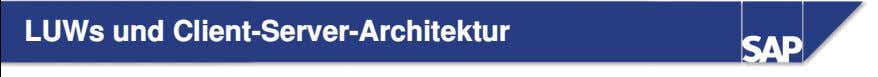 LUWs und Client-Server-Architektur