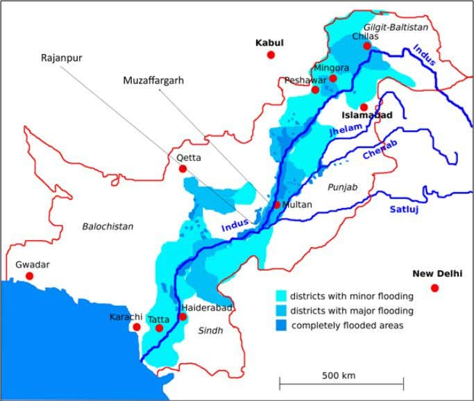 2.2 PAKISTAN'S 2010 FLOODS 2.2.1. Description During July and August 2010, Pakistan experienced higher-than-normal monsoon rainfall,