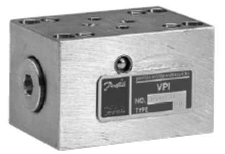 block Pressure and temperature compensating block for VPI A1 General Description Pres sure and Temperature Compensating