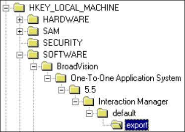 7. Verify that your system has the following registry key: In this registry key, verify that
