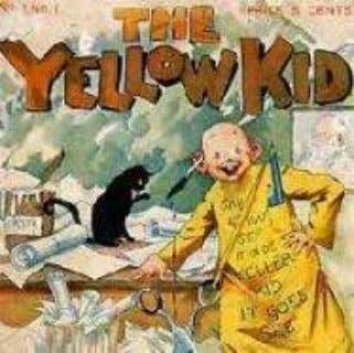 adquirido por William Randolph Herast en 1895 (2006a.). Figura 4: The Yellow Kid . Fuente: Breve
