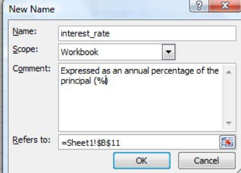 "Specify the reference or value in the "" Refers to: "" box 6. Ok www.Excel-Spreadsheet-Authors.com 10"