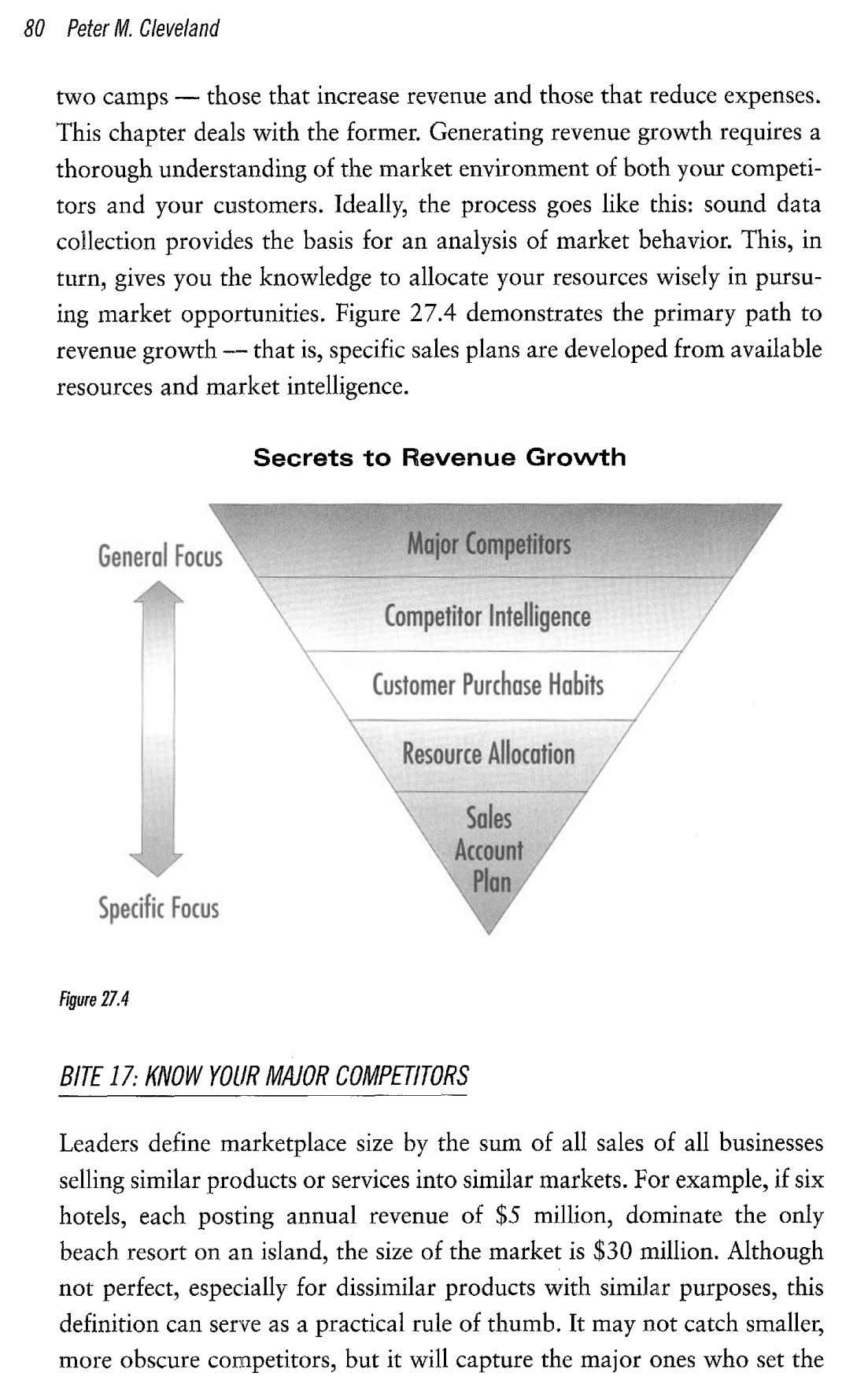 80 Peter M. Cleveland two camps — those that increase revenue and those that reduce