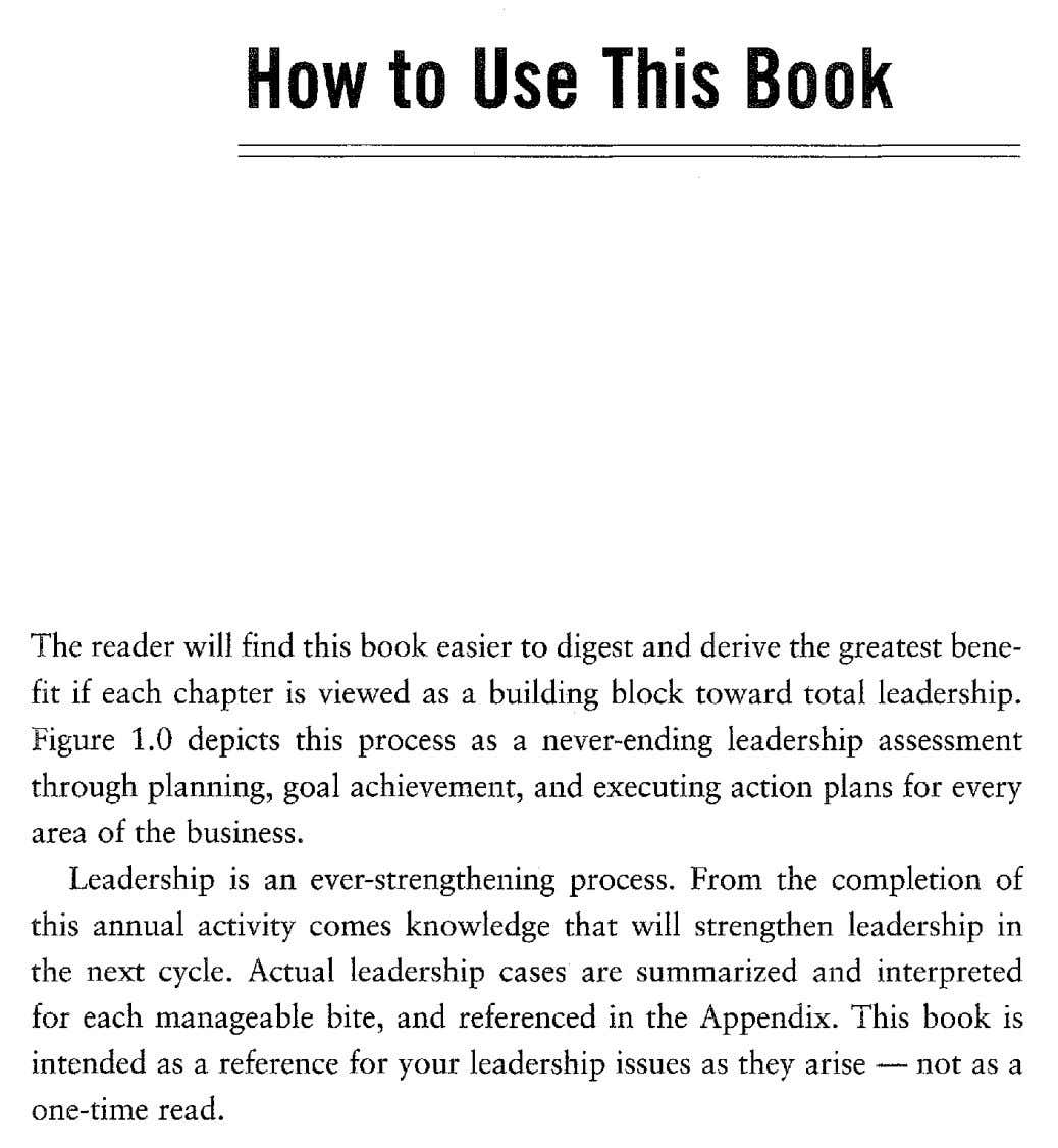 How to Use This Book The reader will find this book easier to digest and