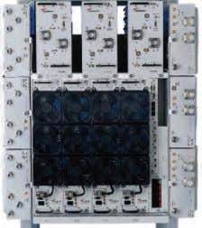 inputs; three amplifier bricks are working in parallel An MCPA for three sectors, two duplexed inputs