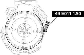Note 1. Hold the oil pump sprocket using the SST . End Of Sie B –