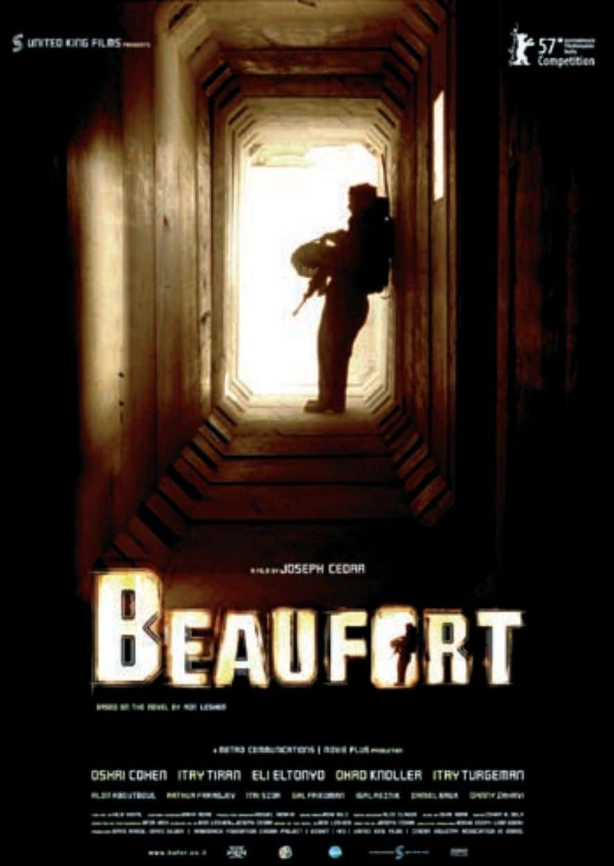 "255 Poster of the film ""Beaufort"", Nominated for an Academy Award as the best foreign-language film"