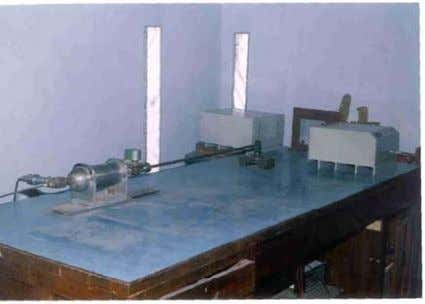 measurement in their experiments and testing facility. Fig. 5: Testing of Laser Velocity Meter with table-top