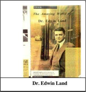 and the Dr. Edwin Land