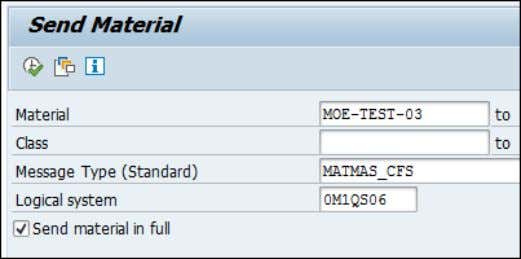 Check that IDOC has been transferred successfully (transaction WE05 or BD87). Verify the replication result in