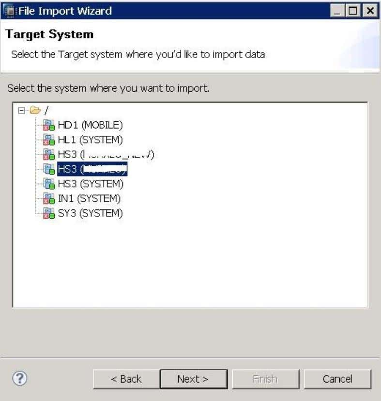 4. Specify the required details in the following dialog,