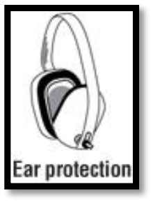6 Lungs and Ear Safety A respirator protects against fumes and harmful oxides. Ear muffs protect