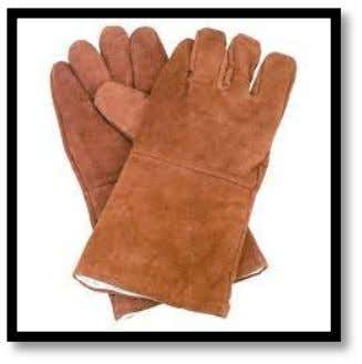 9 Hand Safety Heavy, flame-resistant gloves should always be worn to protect your hands and wrists