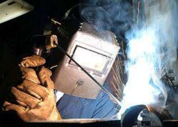 14 Arc Welding Arc welding was the first form of welding created. Arc welding can be