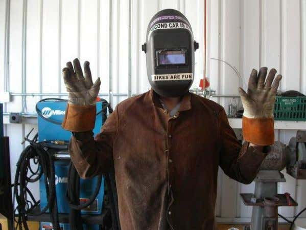 35 Welding Steps (Cont.) 6. Put on Safety Gear Step 6 can be completed by referring