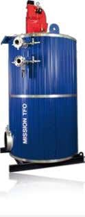 packaged inert gas units are supplied. MISSION™ TFO 100 - 20,000 kW The oil- and gas-fired