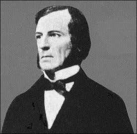 "his book ""An investigation of the laws of thought"" 1854. Fig.2 George Boole mathematician & creator"