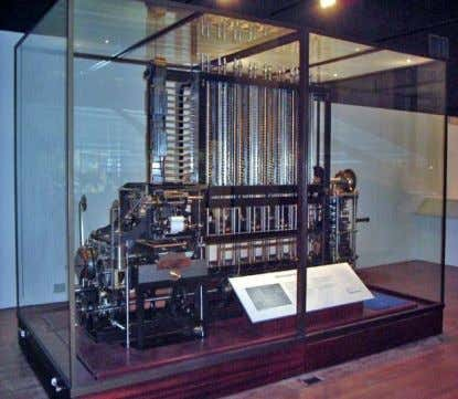 it made use of mechanical gearing to perform operations. Fig.12 'Analytical Engine' first logic gate Fig.13