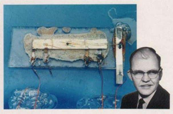 for the new generation of digital logic integrated circuit. Fig.14 Jack Kilby with first integrated circuit