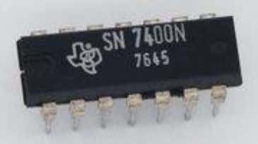 Texas Instruments more than a 50% share of the logic market. Fig.20 SN7400 Series from Texas